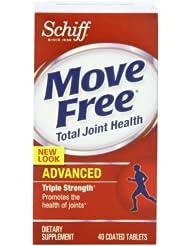 Schiff/Bio Foods Move Free 红色三倍强效维骨力40片 折后SS $8.78