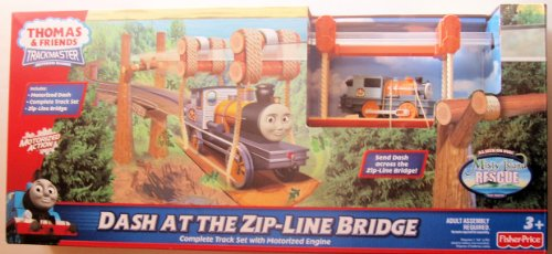 Thomas Friends Trackmaster Zip Line Bridge