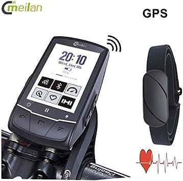 meilan Bike GPS computer M1 Interior Negro cargador de dispositivo ...
