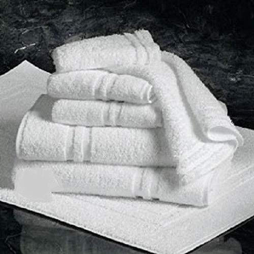 20 Dozen New White 100% Cotton Hotel Hand Towels 16X27 Gym Salon SPA Wholesale
