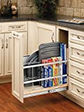 Rev-A-Shelf – 447-BC-8C – 8 in. Pull-Out Wood Base Cabinet Tray Divider and Foil & Wrap Organizer Review