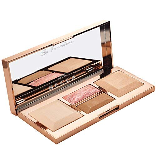 BECCA Be a Light Face Palette LIGHT TO MEDIUM PALETTE by be (Image #1)
