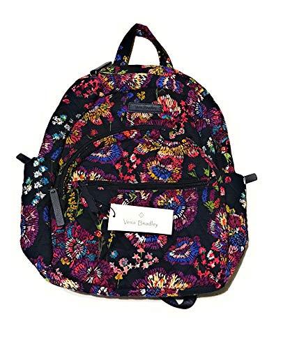 Vera Bradley Essential Compact Backpack - Midnight Wildflowers