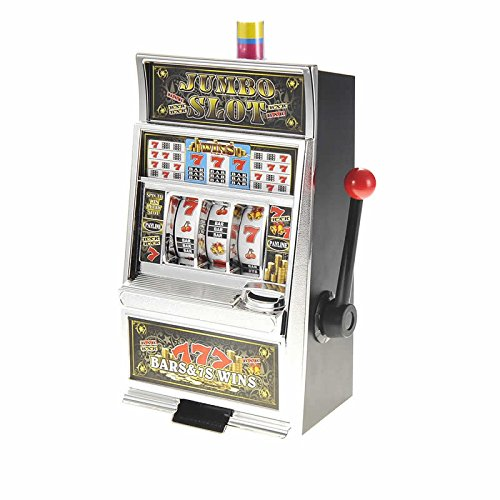Lucky Sevens Jumbo Slot Machine Bank Replica (Slot Jumbo Bank)
