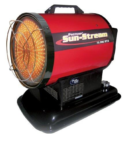 """70,000 BTU Kerosene Radiant """"Sun Stream"""" Heater"""