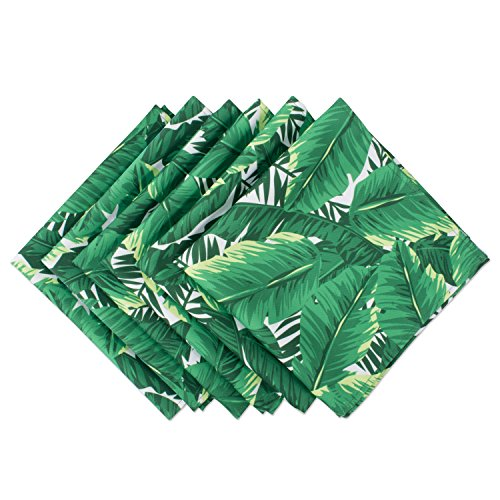 Leafy Jungle Green Napkins