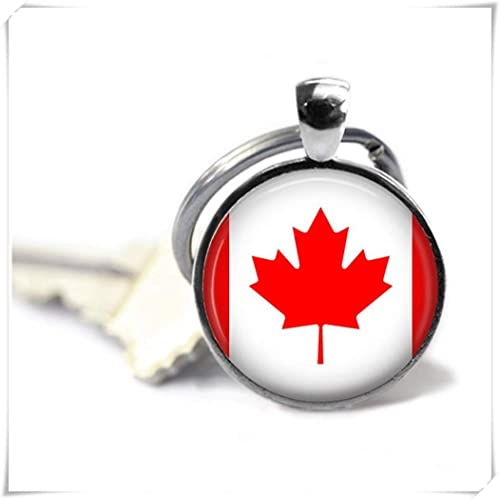 heng yuan tian cheng Bandera Canadiense, Canadá Llavero ...
