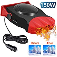 Drtulz 2 in 1 Portable Fast Heating Car Heater with Heating & Cooling Function