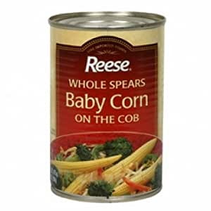 Reese Whole Spear Baby Corn On Cob (12x15Oz )