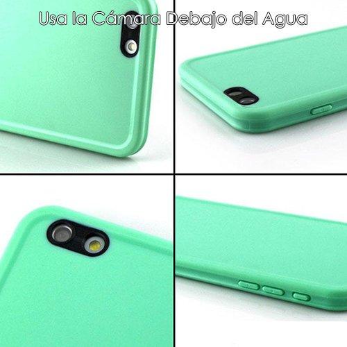 277655a36c2 Donkeyphone Carcasa ACUATICA Ultrafina Negra para iPhone 5 5S SE:  Amazon.es: Electrónica