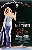 HUGE LAMINATED / ENCAPSULATED Gilda Classic Vintage Italian Film POSTER measures approximately 100x70 cm Greatest Films Collection Directed by Charles Vidor. Starring Rita Hayworth, Glenn Ford, Gerald Mohr