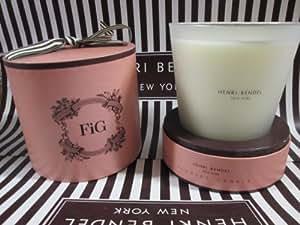 Amazon.com: Henri Bendel Large 3 Wick Candle 25 Oz Fig ...