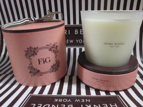 Henri Bendel Large 3 Wick Candle 25 Oz Fig
