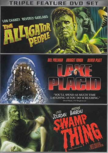 The Alligator People / Lake Placid / Swamp Thing (Triple - George Lake Outlet