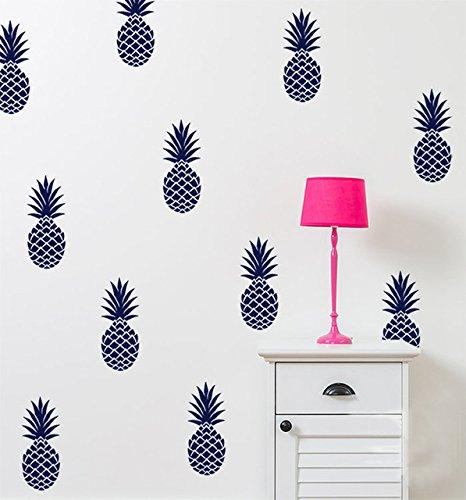 Piña Tatuajes de pared grande de 12 piñas pegatina decoracion ...
