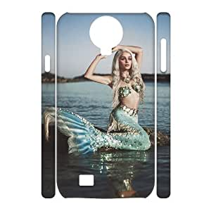 case Of Mermaid 3D Bumper Plastic Cell phone Case For Samsung Galaxy S4 i9500