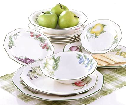 Churchill Victorian Orchard - Vajilla de 19 piezas