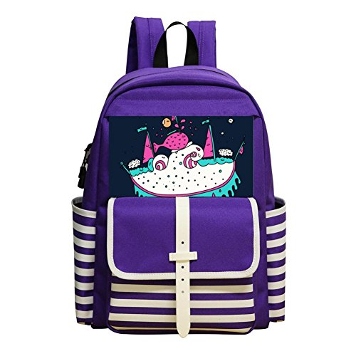 Student Backpack Super Boat Porky Roebuck Super Kids Bookbag Break Cool Schoolbag For Boys