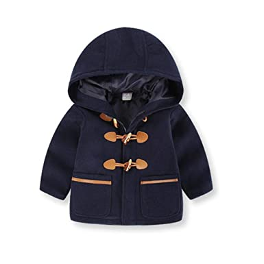 6acd9aeda Moonker Baby Coat 2-6 Years Old,Toddler Boys Girls Kids Winter Hooded Thick