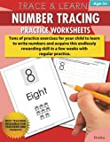 Trace & Learn Numbers Tracing Workbook Practice Worksheets: Daily Practice Guide for Pre-K Children (Volume 1)