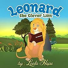 Leonard The Clever Lion: rhyming books for preschool