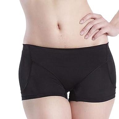 bbc30aacb Womens Sexy Plus Size Panties Butt Lifter Padded Control Panties Hip  Enhancer Briefs Seamless Underwear Boyshort