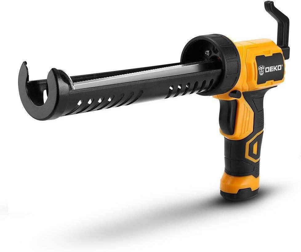 LHFSM Inalámbrico Pistola for calafatear, 170 mm/min Calor de fusión en Caliente de múltiples Funciones de presión eléctrica de Coser Costuras sellador de Pegamento Resistente al Agua