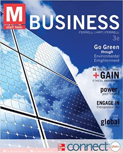 Amazon m business with connect plus 9780077924881 o c m business with connect plus 3rd edition fandeluxe Image collections
