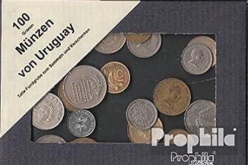 Prophila monedas para coleccionistas: Uruguay 100 gramos monedas por peso