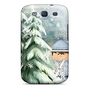 New Arrival Premium S3 Case Cover For Galaxy (winter At Its Best)