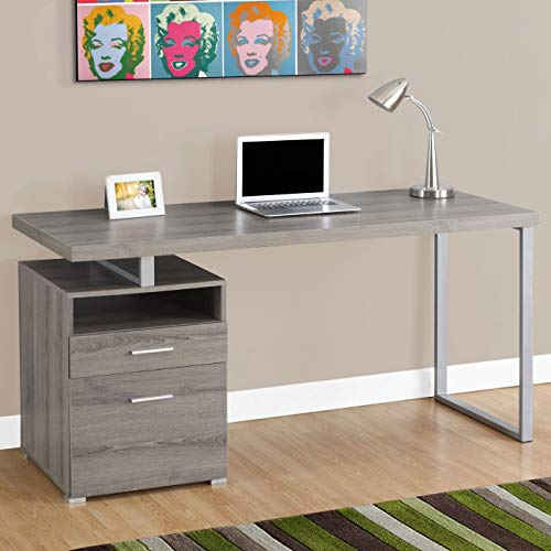 Monarch Metal Computer Desk, 60