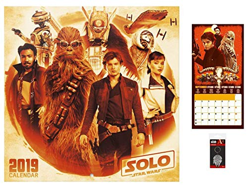 Star Wars Poster Calendar - Solo A Star Wars Story, Official Calendar 2019 (12 x 12 inches)