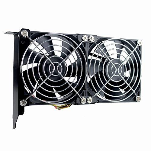 Vga Fan (GDSTIME Graphic Card Fans, Graphics Card Cooler, PCI Slot Dual 90mm 92mm Fans, VGA Cooler)