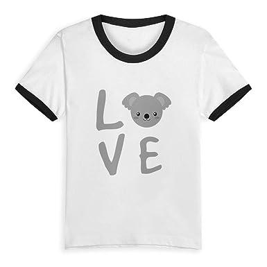 1233947a Amazon.com: Koala Bear Love Little Kids'/Toddlers' Short Sleeve T ...