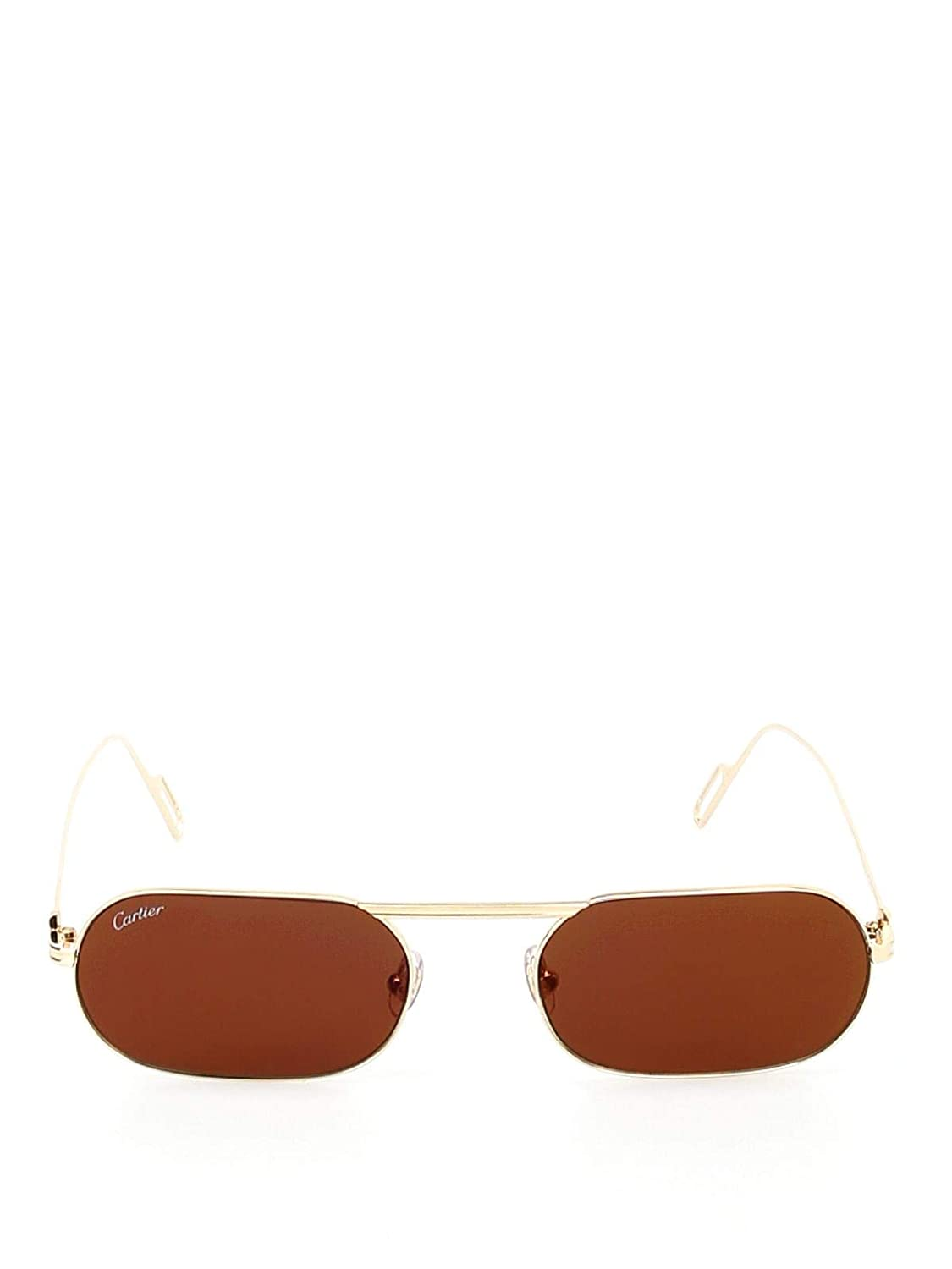 Luxury Fashion | Cartier Hombre CT0112S003 Oro Gafas De Sol ...