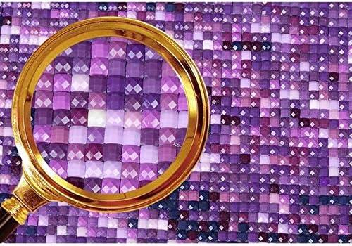 40cm Fansi 1X DIY 5D Kits de Pintura de Diamantes Puerta de Flores Diamond Painting Full Diamond Rhinestone Bordado Pintura Sala de Estar Dormitorio Home Decor Art Crafts Mural 30