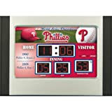 MLB Philadelphia Phillies Scoreboard Desk Clock