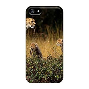 Hot Fashion JmT261nKsE Design Case Cover For Iphone 5/5s Protective Case (cheetah Family)