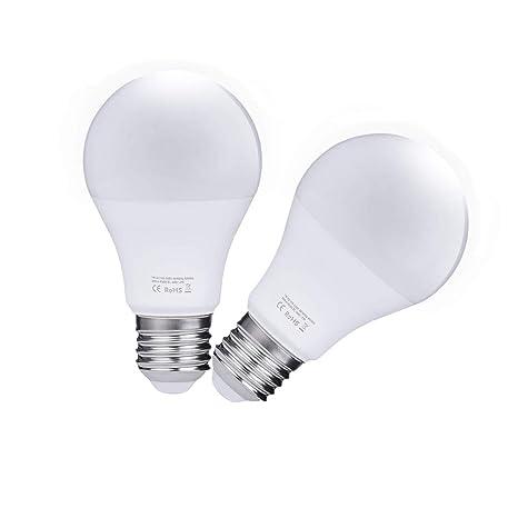 Sensore Accensione Lampade Con Crepuscolare.Lampadina Con Sensore 7w E27 Lampadina Led Con Sensore