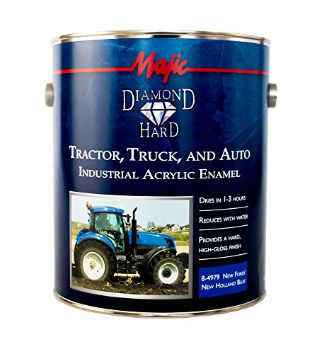 - Majic Paints 8-4979-1 Diamond Hard Tractor, Truck & Auto Acrylic Enamel Paint, 1-Gallon, New Ford/New Holland Blue
