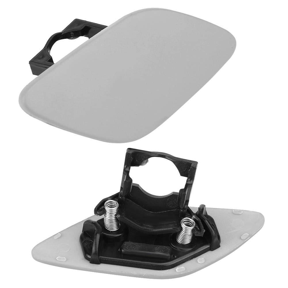 derecha KIMISS ABS Casquillo de la Cubierta de la lavadora del Faro delantero del coche para Serie 3 E92 E93 6167 7171660