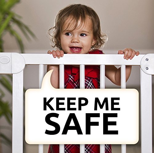 Baby Gates Wall Pads (4 Pack Guard) Safety Indoor Gate Wall Protector - Improved Small Compact Wall Cups Saves Trim & Paint - Best Dog Pet Child Kid Walk Through Pressure Mounted Gates Guard by vmaisi (Image #7)
