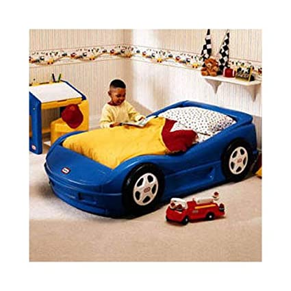 amazon com little tikes roadster toddler bed toys games