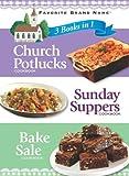 3 in 1 Church Pot Luck, Sunday Supper, Bake Sale, Publications International Ltd. Staff, 1412756979