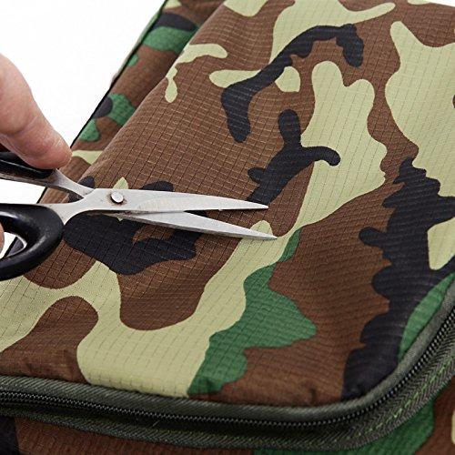 Faltpakets Sport Rucksack Outdoor Camouflage Dual Umhängetaschen Camping Freizeit Walking Tour Package, Camouflage Zwx Haut