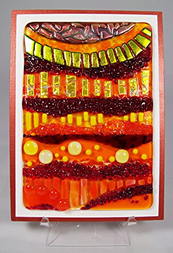 Fused Glass Art - cute fused glass wall decorations