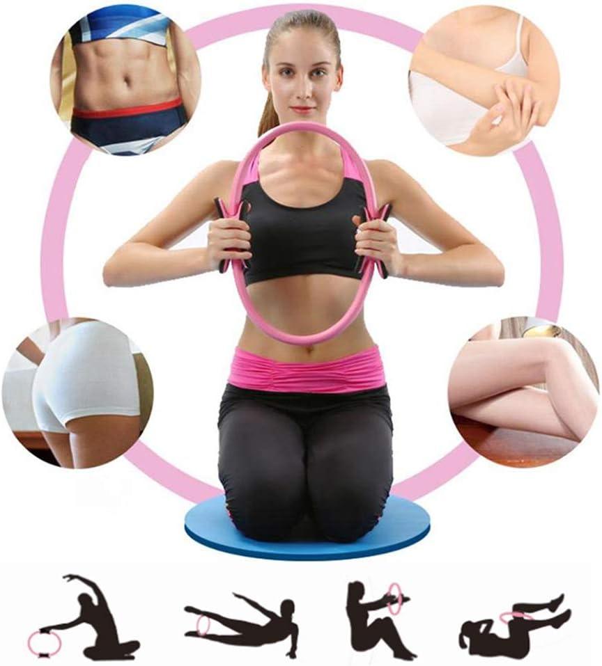 AGZHU Pilates-Ring Magic Fitness Kreis Yoga Dual Grip Abnehmen Body Buildi
