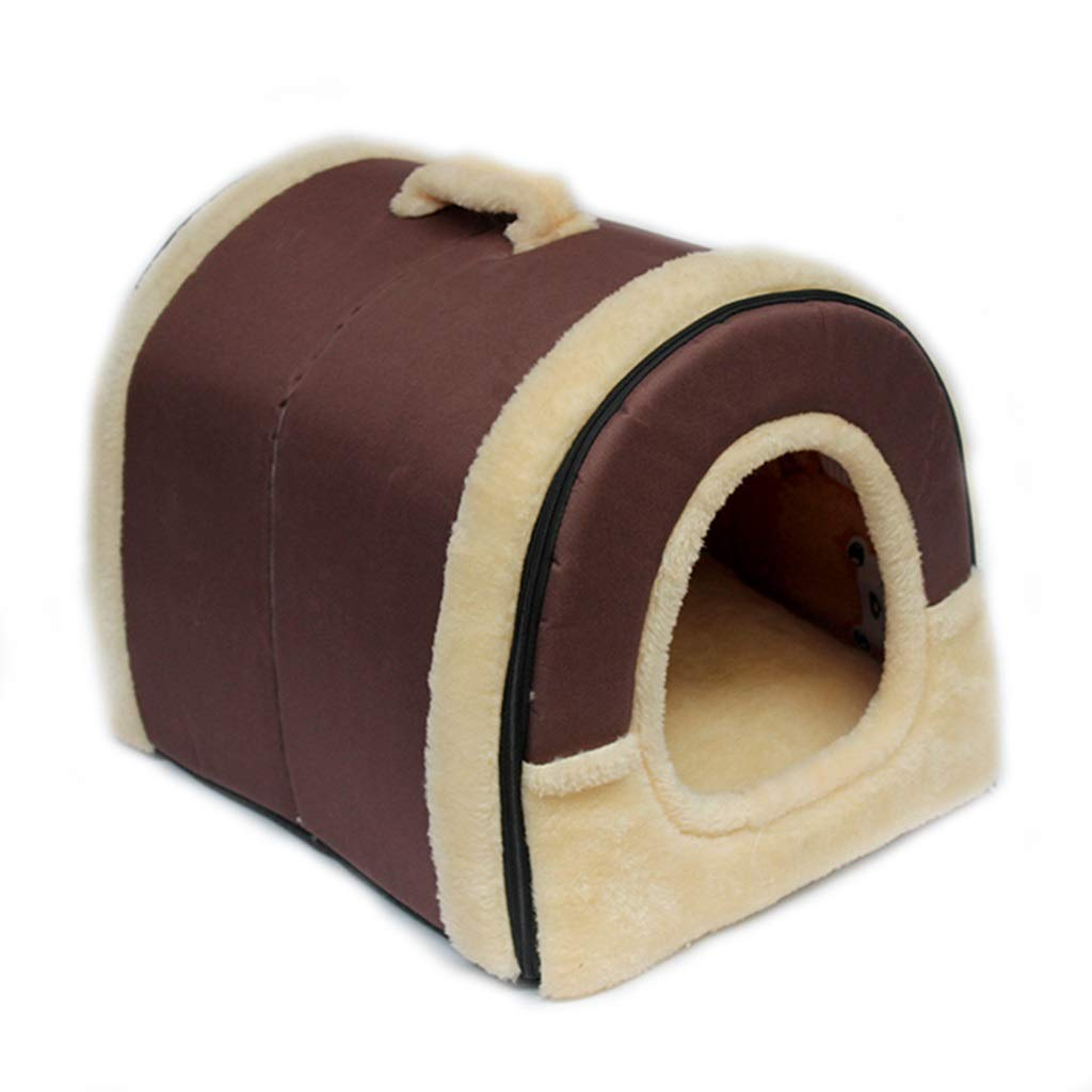 A Small A Small Multi-Functional Pet Nest Foldable Soft and Comfortable (color   A, Size   S)