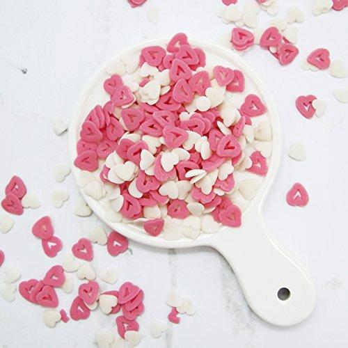 - Whimsical Open Heart Shaped Sprinkles, Bulk 5 lbs.