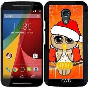 Funda para Motorola Moto G (Generation 2) - Búho Lindo De Navidad by nicky2342